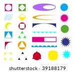 design elements | Shutterstock .eps vector #39188179