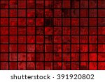 bright abstract mosaic red... | Shutterstock . vector #391920802