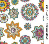seamless pattern texture.... | Shutterstock .eps vector #391943455