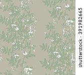 leaves seamless pattern | Shutterstock . vector #391982665