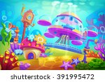 creative illustration and... | Shutterstock . vector #391995472