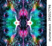 watercolor raster seamless... | Shutterstock . vector #392017798