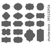 frame design  vector... | Shutterstock .eps vector #392132926