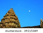 Angkorwat temple - stock photo