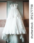 beautiful wedding dress | Shutterstock . vector #392177758