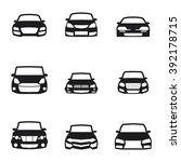 car vehicles icons | Shutterstock .eps vector #392178715