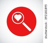 heart search icon