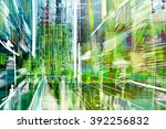 abstract painted canvas. oil... | Shutterstock . vector #392256832