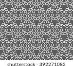 ethnic seamless pattern. vector ... | Shutterstock .eps vector #392271082