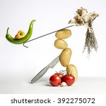 Gourmet Food Composition With...