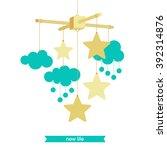 baby shower invitation ...   Shutterstock .eps vector #392314876