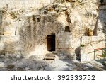 Entrance To The Tomb. The...