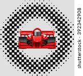 race cars . | Shutterstock .eps vector #392342908