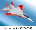 detailed isometric vector... | Shutterstock .eps vector #392348542