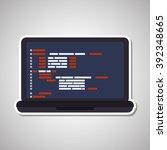 responsive web design  | Shutterstock .eps vector #392348665