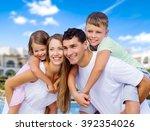 beach. | Shutterstock . vector #392354026
