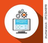 responsive web design | Shutterstock .eps vector #392364898