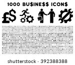 1000 business vector icons.... | Shutterstock .eps vector #392388388