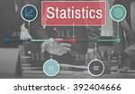statistics process efficiency... | Shutterstock . vector #392404666