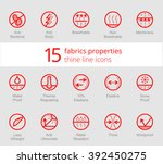 waterproof  sun protection wind ... | Shutterstock .eps vector #392450275