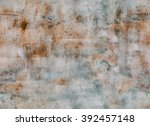 abstract peeled texture.... | Shutterstock . vector #392457148