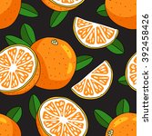 seamless vector pattern of... | Shutterstock .eps vector #392458426