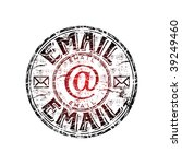 red grunge rubber stamp with...   Shutterstock .eps vector #39249460