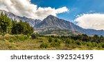 biokovo mountain nature park... | Shutterstock . vector #392524195