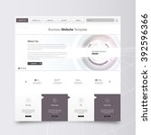 technology website template...