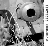 Artillery Piece Part Close Up...