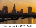 city of london one of the... | Shutterstock . vector #392618686