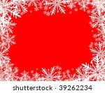 christmas background in vector... | Shutterstock .eps vector #39262234