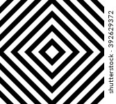 centric squares black and white ... | Shutterstock . vector #392629372
