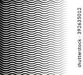 wavy  zigzag lines pattern.... | Shutterstock . vector #392635012
