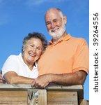 portrait of beautiful  happy... | Shutterstock . vector #39264556