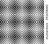 abstract monochrome pattern... | Shutterstock . vector #392658682