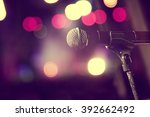 live music background... | Shutterstock . vector #392662492