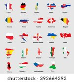 countries participating...   Shutterstock .eps vector #392664292