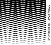 wavy  zig zag horizontal lines. ... | Shutterstock . vector #392670622