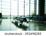 blurred background   traveler...   Shutterstock . vector #392698285