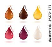vector illustration of drops of ...   Shutterstock .eps vector #392704876