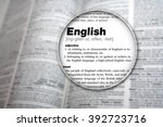 dictionary showing the word ... | Shutterstock . vector #392723716