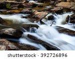 Creek Or Stream Water Flowing...