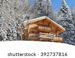 Traditional Alpine Cabin In Th...