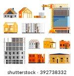 Construction Orthogonal Icons...