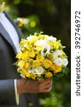 bridal bouquet | Shutterstock . vector #392746972