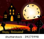 halloween invitation or... | Shutterstock .eps vector #39275998