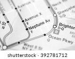 neptune av. 6 av central park... | Shutterstock . vector #392781712