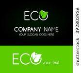 eco | Shutterstock .eps vector #392803936