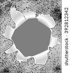 hole | Shutterstock .eps vector #392812342